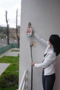 Устройство канатно-спусковое пожарное